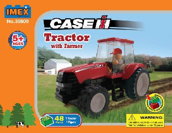 Case Magnum 190 Tractor with Farmer Construction Set