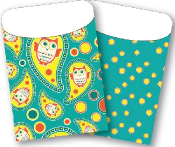 Brite Pockets: Owl/Targets Twin Pack