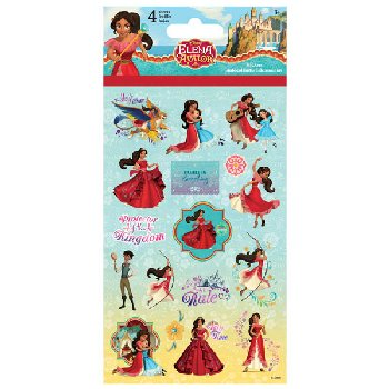 Princess Elena Standard Stickers (4 Sheet)