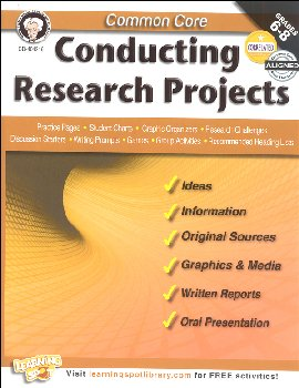 Common Core: Conducting Research Projects (Mark Twain Media Common Core Series)
