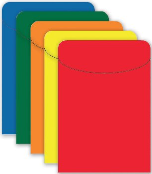 Brite Pockets: Primary Assorted Bag of 35