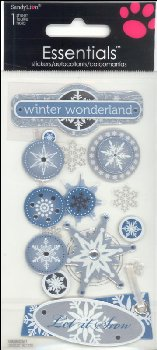 Snowflakes Essential Stickers