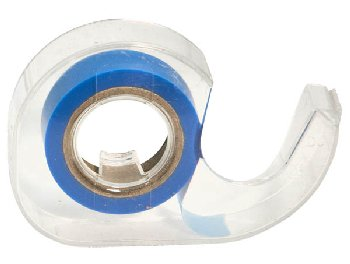 "Blue Roll 1/2"" Highlighter Tape in Dispenser"