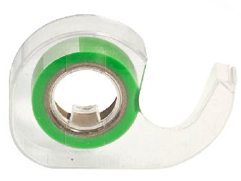 "Green Roll 1/2""  Highlighter Tape in Dispenser"
