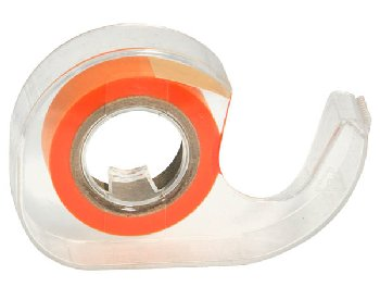 "Orange Roll 1/2""  Highlighter Tape in Dispnser"