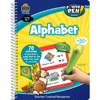 Power Pen Learning Book - Alphabet