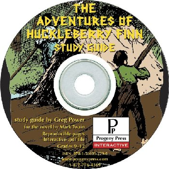 Adventures of Huck Finn Study Guide on CD