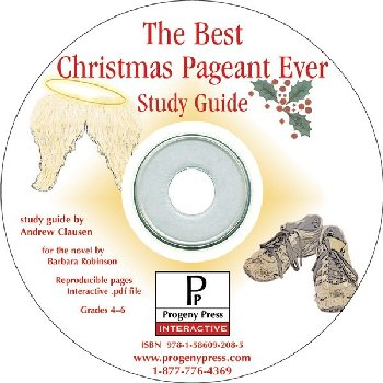 Best Christmas Pageant Ever Study Guide on CD