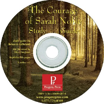 Courage of Sarah Noble Study Guide on CD