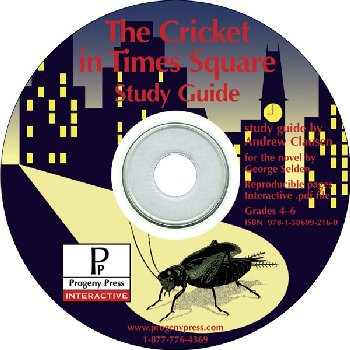Cricket in Times Square Study Guide on CD