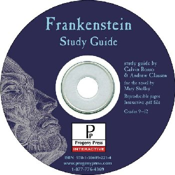Frankenstein Study Guide on CD