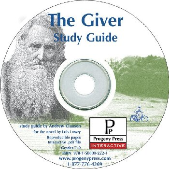 Giver Study Guide on CD