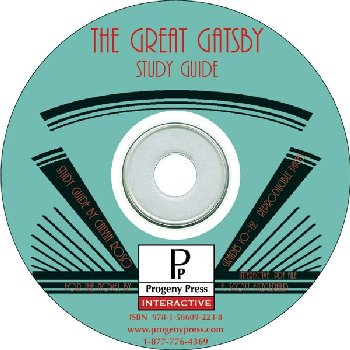 Great Gatsby Study Guide on CD