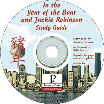 In the Year of the Boar and Jackie Robinson Study Guide on CD
