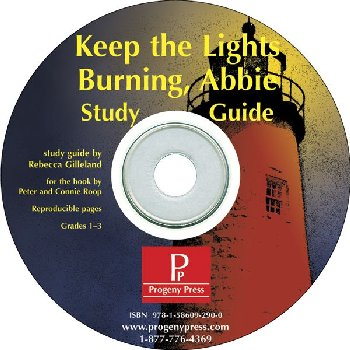 Keep the Lights Burning, Abbie Study Guide on CD