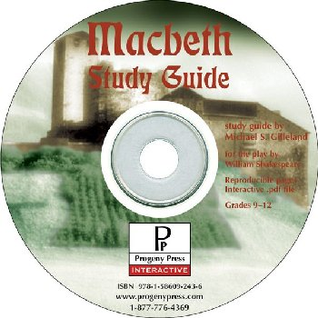 Macbeth Study Guide on CD