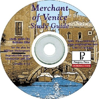 Merchant of Venice Study Guide on CD