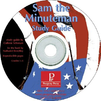 Sam the Minuteman Study Guide on CD