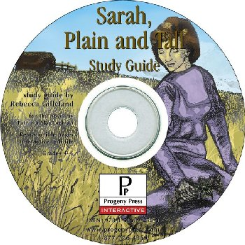 Sarah, Plain and Tall Study Guide on CD