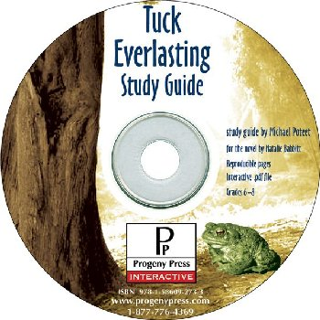Tuck Everlasting Study Guide on CD