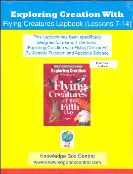 Apologia Exploring Creation with Zoology 1 Lapbook for Lessons 7-14 Printed Booklet