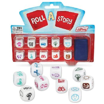 Roll A Story Dice Game