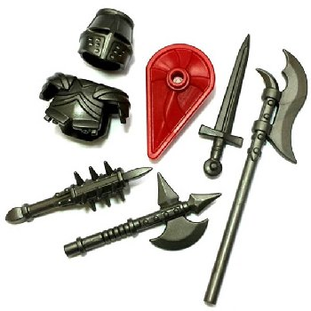 Knight Army Brick Warriors Pack