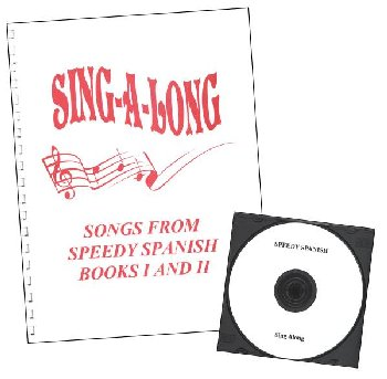 Speedy Spanish Sing-a-long Book & CD