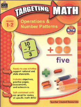 Operations & Numbr Pttrns Gd.1-2 (Target Mth)