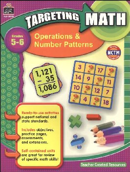 Operations & Numbr Pttrns Gd.5-6 (Target Mth)