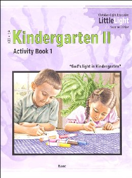 Kindergarten II - LittleLight Activity Book 1