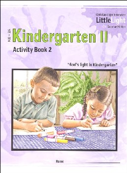 Kindergarten II - LittleLight Activity Book 2