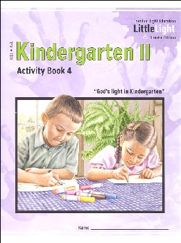 Kindergarten II - LittleLight Activity Book 4