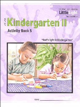 Kindergarten II - LittleLight Activity Book 5