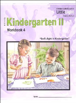 Kindergarten II - LittleLight Workbook 4