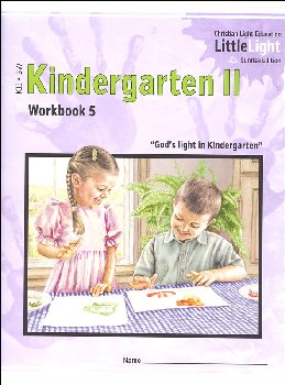 Kindergarten II - LittleLight Workbook 5