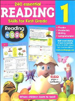 Reading Eggs Reading Workbook Grade 1