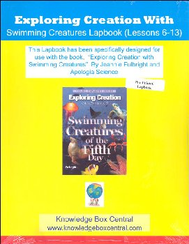 Apologia Exploring Creation with Zoology 2 Lapbook for Lessons 6-13 Printed Booklet