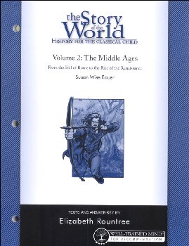 Story of the World Volume 2 Tests and Answer Key 2nd Edition