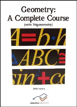 Geometry Complete Course - Module A - DVD