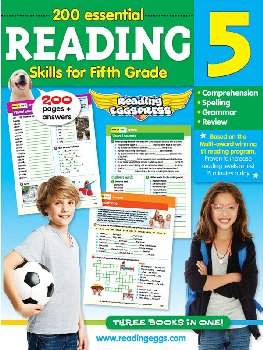 Reading Eggs Reading Workbook Grade 5
