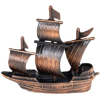 Sailing Ship Pencil Sharpener (Historic Pencil Sharpeners)