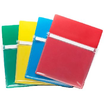 Magnetic Pockets - 4 pack (assorted colors)