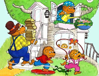 Spring Day (Berenstain Bears) 20-piece Mini Puzzle