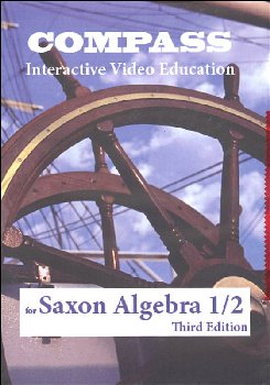 Compass CD-ROM Saxon Algebra 1/2 3rd Edition