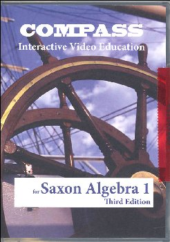 Compass CD-ROM Saxon Algebra I 3rd Edition