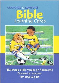 Courage & Comfort Bible Learning Cards