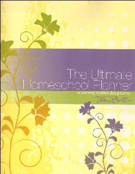 Ultimate Homeschool Planner with Yellow Cover