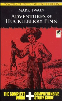 Adventures of Huckleberry Finn Thrift Study Edition