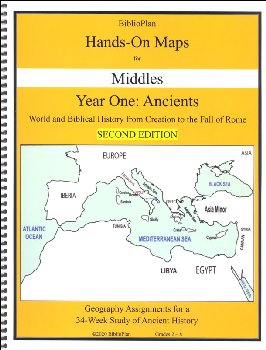 BiblioPlan: Ancient History Hands-On Maps Middles